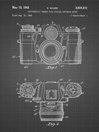 Photographic Camera With Coupled Exposure Meter Patent - Black Grid