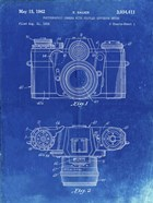 Photographic Camera With Coupled Exposure Meter Patent - Faded Blueprint