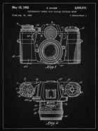 Photographic Camera With Coupled Exposure Meter Patent - Vintage Black