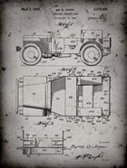 Military Vehicle Body Patent - Faded Grey