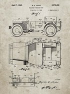 Military Vehicle Body Patent - Sandstone