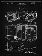 Military Vehicle Body Patent - Vintage Black