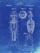 Explosive Missile Patent - Faded Blueprint