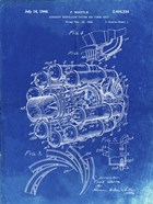 Aircraft Propulsion & Power Unit Patent - Faded Blueprint