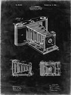 Photographic Camera Patent - Black Grunge