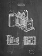 Photographic Camera Patent - Chalkboard
