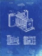 Photographic Camera Patent - Faded Blueprint