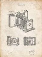 Photographic Camera Patent - Vintage Parchment