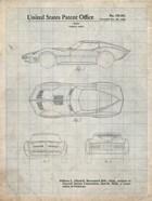 Vehicle Body Patent - Antique Grid Parchment