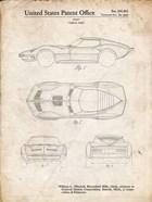 Vehicle Body Patent - Vintage Parchment