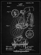 Bicycle Patent - Vintage Black