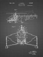 Direct-Lift Aircraft Patent - Black Grid
