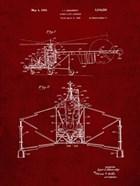 Direct-Lift Aircraft Patent - Burgundy
