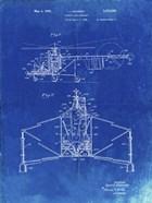 Direct-Lift Aircraft Patent - Faded Blueprint