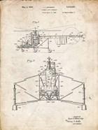 Direct-Lift Aircraft Patent - Vintage Parchment