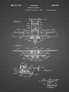 Amphibian Aircraft Patent - Black Grid
