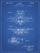 Amphibian Aircraft Patent - Blueprint
