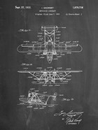 Amphibian Aircraft Patent - Chalkboard