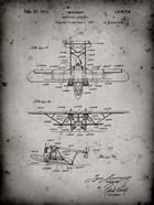 Amphibian Aircraft Patent - Faded Grey