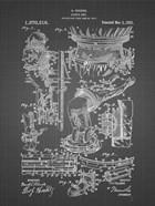 Diver's Suit Patent - Black Grid