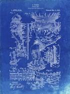 Diver's Suit Patent - Faded Blueprint