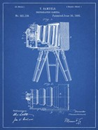 Photographic Camera Patent - Blueprint
