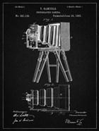 Photographic Camera Patent - Vintage Black