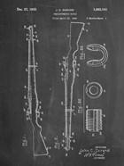 Semi-Automatic Rifle Patent - Chalkboard