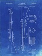Semi-Automatic Rifle Patent - Faded Blueprint