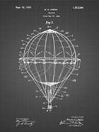 Balloon Patent - Black Grid