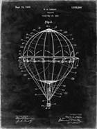 Balloon Patent - Black Grunge