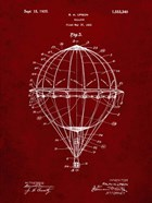 Balloon Patent - Burgundy