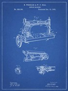 Sewing Machine Patent - Blueprint
