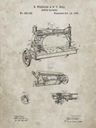 Sewing Machine Patent - Sandstone