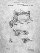 Sewing Machine Patent - Slate