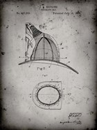 Fireman's Hat Patent - Faded Grey