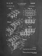Toy Building Brick Patent - Chalkboard