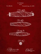 Cigar Patent - Burgundy