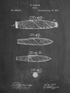 Cigar Patent - Chalkboard