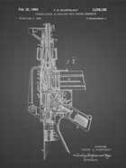 Firearm With Auxiliary Bolt Closure Mechanism Patent - Black Grid