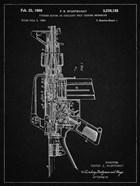 Firearm With Auxiliary Bolt Closure Mechanism Patent - Vintage Black