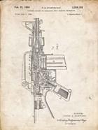 Firearm With Auxiliary Bolt Closure Mechanism Patent - Vintage Parchment
