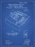 Type Writing Machine Patent - Blueprint
