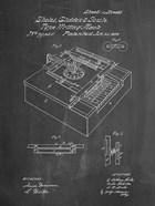 Type Writing Machine Patent - Chalkboard
