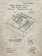 Type Writing Machine Patent - Sandstone