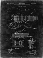 Tremolo Device for Stringed Instruments Patent - Black Grunge