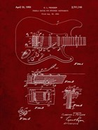 Tremolo Device for Stringed Instruments Patent - Burgundy