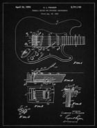 Tremolo Device for Stringed Instruments Patent - Vintage Black