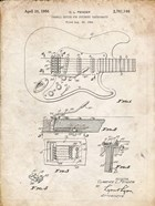 Tremolo Device for Stringed Instruments Patent - Vintage Parchment