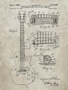 Guitar & Combined Bridge & Tailpiece Therefor Patent - Sandstone